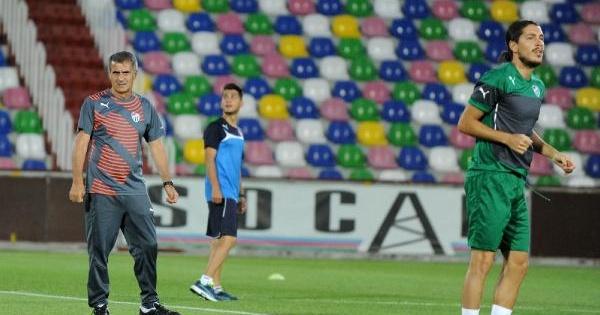 Bursaspor Son İdmanini Mıkheıl Meskhı Stadı'nda Yaptı