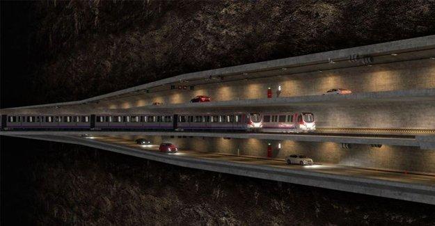 Büyük İstanbul Tüneli'nin ihalesi 23 Aralık'ta