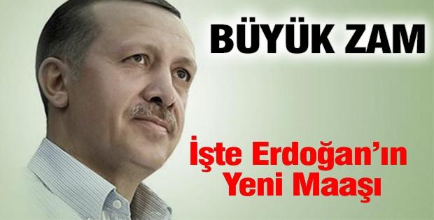 Büyük zam işte Erdoğan'ın yeni maaşı