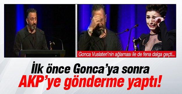 Cem Yılmaz'dan AKP'ye gönderme!