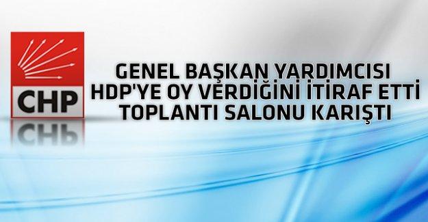 CHP'de 'HDP'ye oy verdim' kavgası