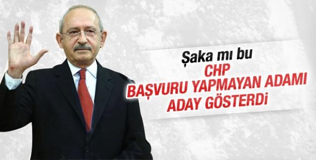 CHP'de skandal hata!