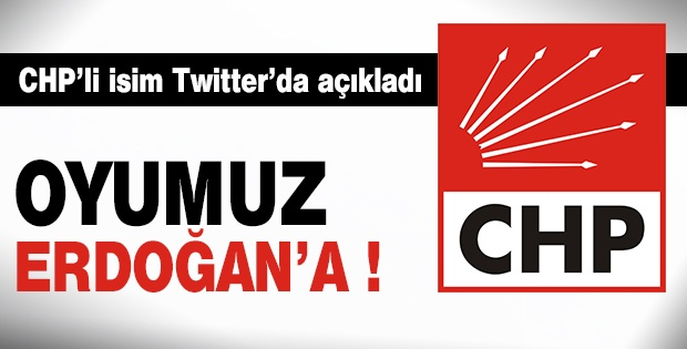 CHP'li Korkmaz Karaca: Oyumuz Erdoğan'a