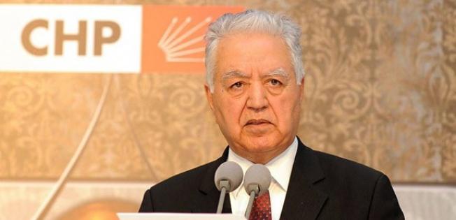 Chp'li Loğoğlu'ndan Davutoğlu'na 'istifa Et' Çağrisi