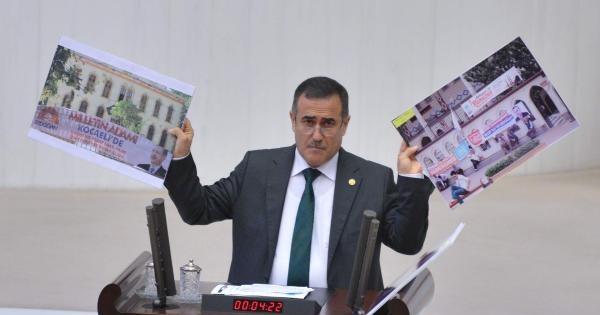 """Chp'li Özkes: """"akp, Hz. Muhammed'i Mahkemeye Verdi"""""""