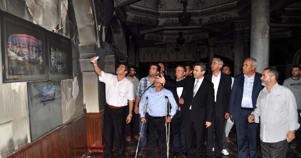Chp'liler Muhammediye Camii'ni Ziyaret Etti