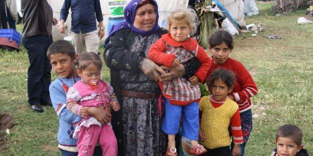 Cihanbeyli'de Urfalı Tarım İşçilerinin Çadır Çilesi