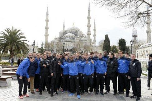 Club Brugge, İstanbul'un tadını çıkardı