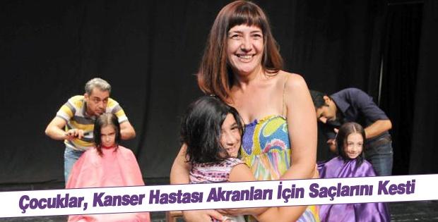 Çocuklar, Kanser Hastası Akranları İçin Saçlarını Kesti