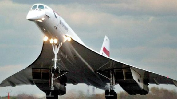 'Concorde' ler yine gökyüzünde