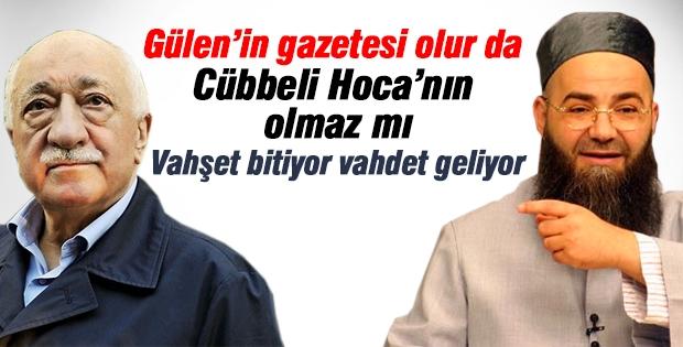 Cübbeli Ahmet Hoca'nın gazetesi çıkıyor