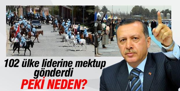 Cumhurbaşkanı Erdoğan 102 ülke liderine mektup gönderdi