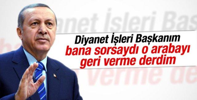 Cumhurbaşkanı Erdoğan Belçika'da konuşdu