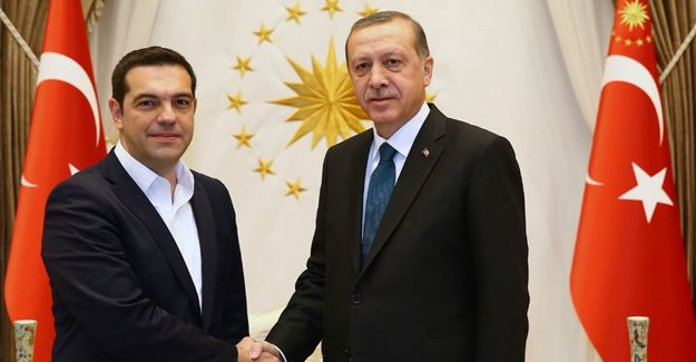 Cumhurbaşkanı Erdoğan Çipras'ı kabul etti