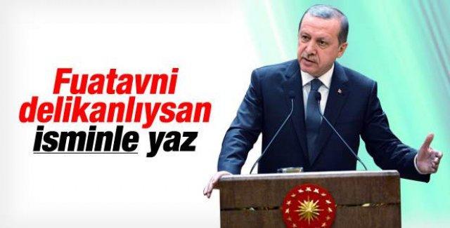 Cumhurbaşkanı Erdoğan'dan FuatAvni'ye cevap