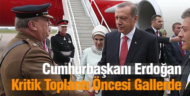Cumhurbaşkanı Erdoğan Kritik Toplantı Öncesi Gallerde