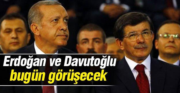 Cumhurbaşkanı Erdoğan ve Başbakan Davutoğlu bugün görüşecek