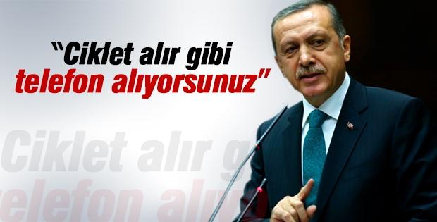 Cumhurbaşkanı Erdoğan'dan cep telefonu yorumu