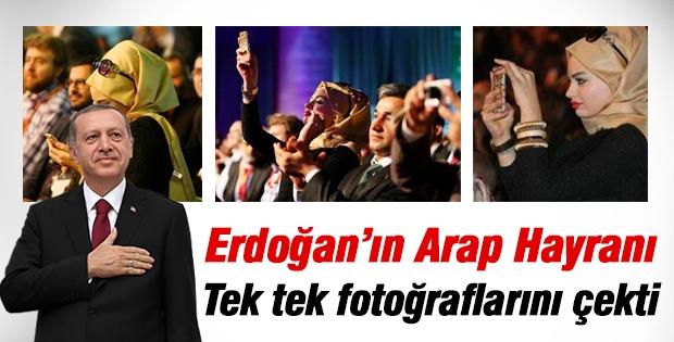 Cumhurbaşkanı Erdoğan'ın tek tek fotoğraflarını çekti