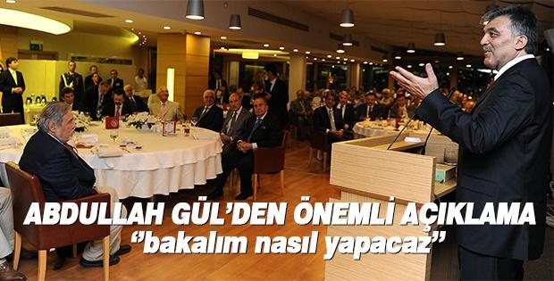 Cumhurbaşkanı Gül'den hizmet mesajı