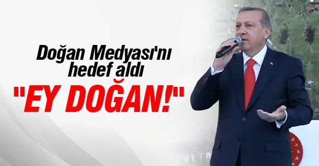 Cumhurbaşkanı Recep Tayyip Erdoğan'dan Doğan Medyasına cevap