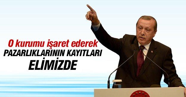 Cumhurbaşkanı Recep Tayyip Erdoğan İstanbul'da konuştu