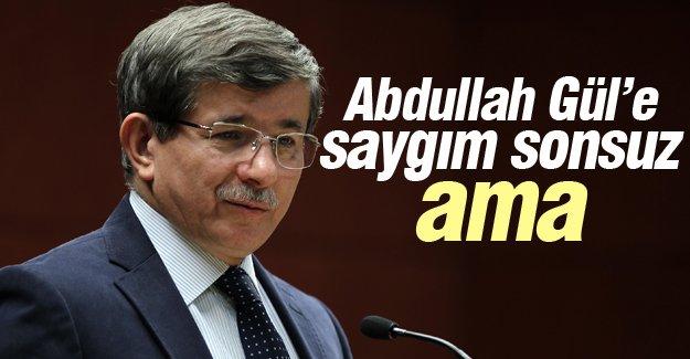 Davutoğlu: Abdullah Gül'ün haberi vardı