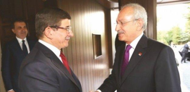Davutoğlu Kılıçdaroğlu görüşmesi başladı