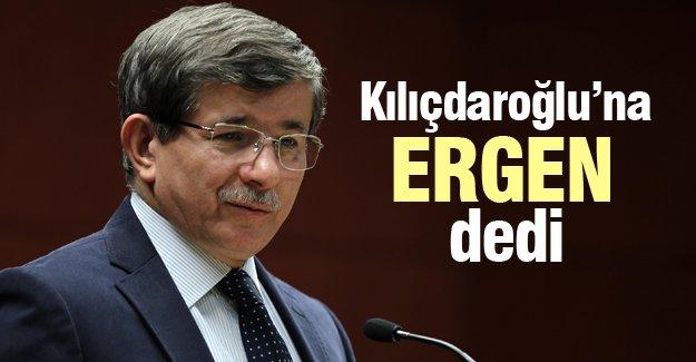 Davutoğlu'ndan Kılıçdaroğlu'na 'ergen' benzetmesi