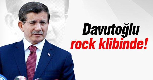 Davutoğlu rock klibinde!