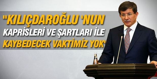 Davutoğlu'ndan Kılıçdaroğlu'na yanıt