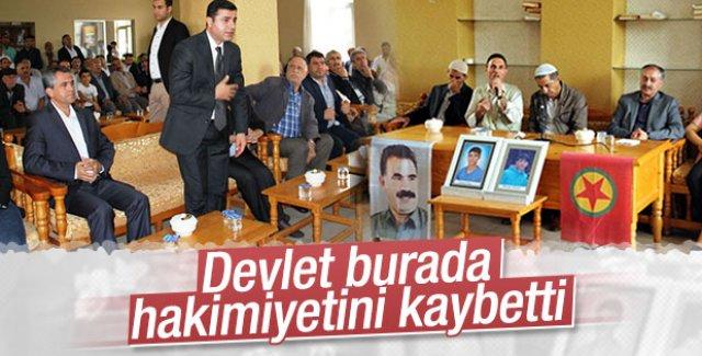 Demirtaş PKK'lıların evine taziyeye gitti