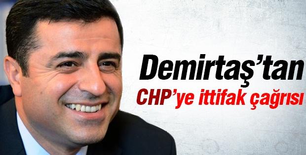 Demirtaş'tan CHP'ye ittifak çağrısı