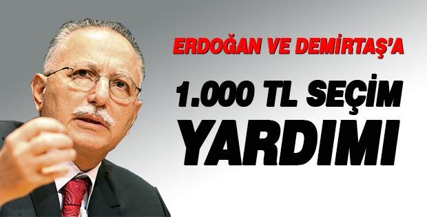 Demirtaş'tan İhsanoğlu'na : Hepsini Bana Yatırabilirsiniz Rahat Olun