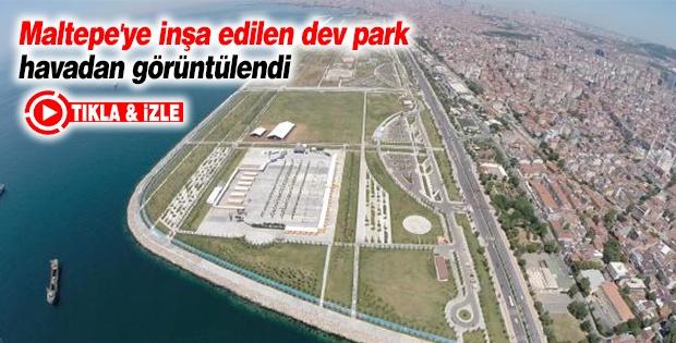 Dev Park Halkın Kullanımına Açıldı