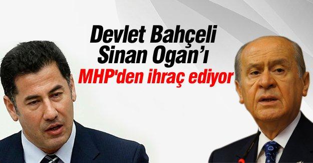 Devlet Bahçeli, Sinan Ogan'ı MHP'den ihraç ediyor