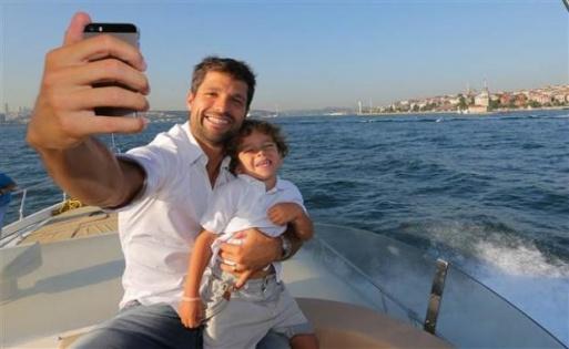Diego Ribas Ailesiyle Boğaz Turuna Çikti