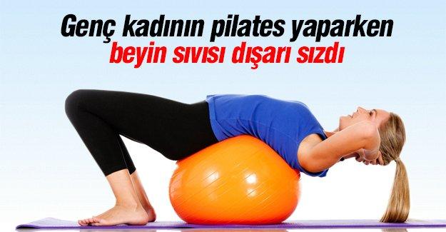 Dikkat! Pilates yüzünden sağlığından oldu!