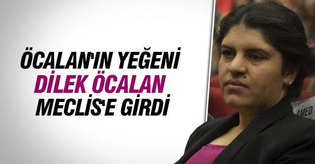 Dilek Öcalan Meclis'e girdi