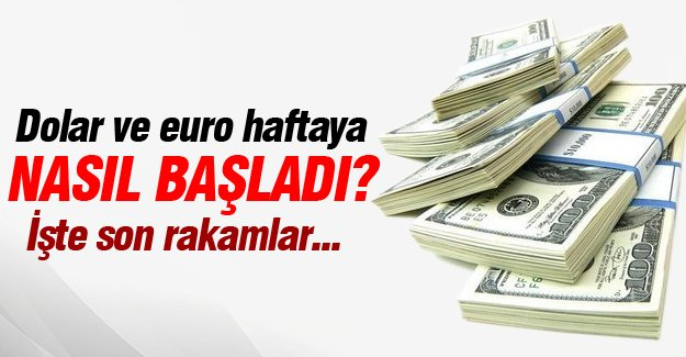 Dolar ve euro da son durum!