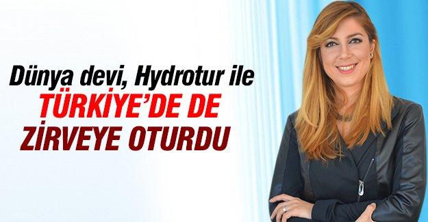 Dünya devi, Hydrotur ile Türkiye'de de zirveye oturdu