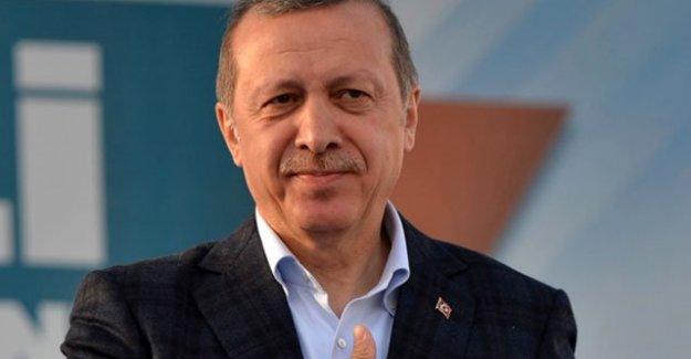 Dünyanın en karizmatik lideri Erdoğan!