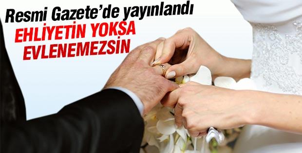Ehliyetin yoksa evlenemezsin!