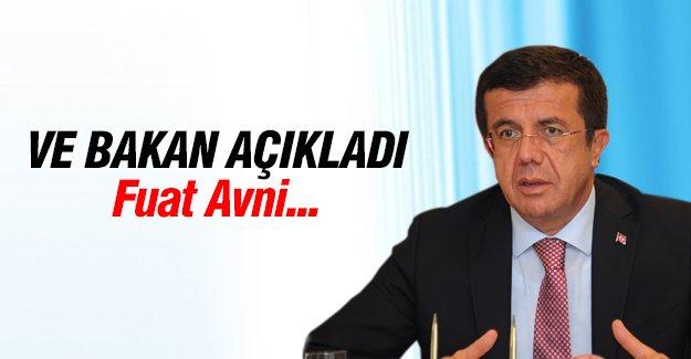 Ekonomi Bakanı Fuat Avni'yi açıkladı