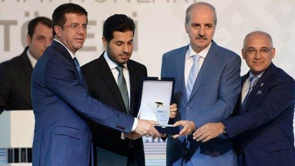 Ekonomi Bakanı Nihat Zeybekci'den ödül açıklaması