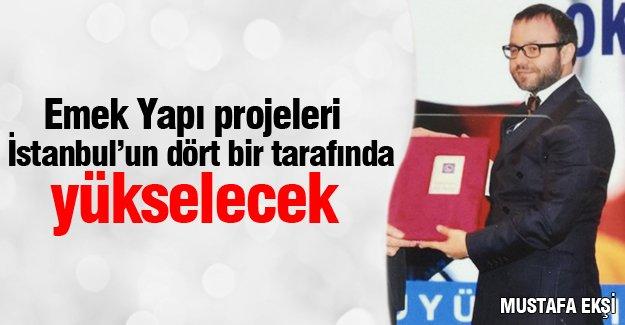 Emek Yapı projeleri İstanbul'un dört bir tarafında yükselecek