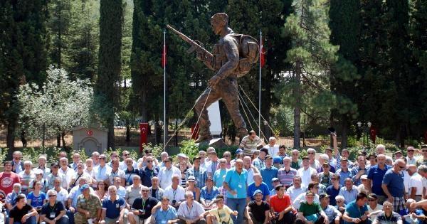 Emekli Komandolar 34 Yıl Sonra Eğirdir'de Buluştu
