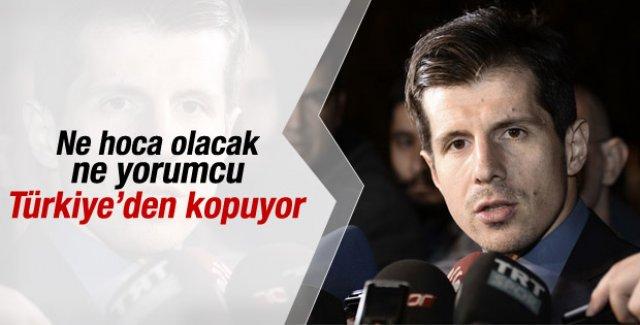 Emre Belözoğlu FIFA'da görev almak istiyor