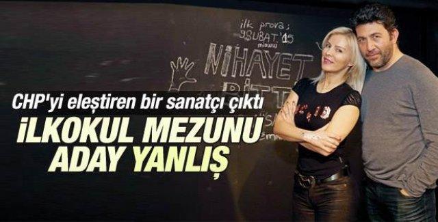 Emre Kınay ilkokul mezunu aday yanlış