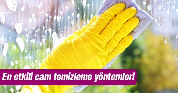 En etkili cam temizleme yöntemleri!
